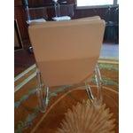 Image of Charles Hollis Jones Vintage Lucite Rocking Chair