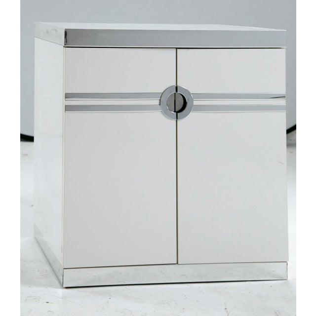 Pierre Cardin for Dillingham Nightstands - Pair - Image 3 of 10