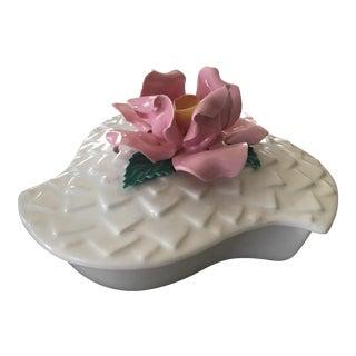 Enchanto Pottery Co. Rose Lidded Box