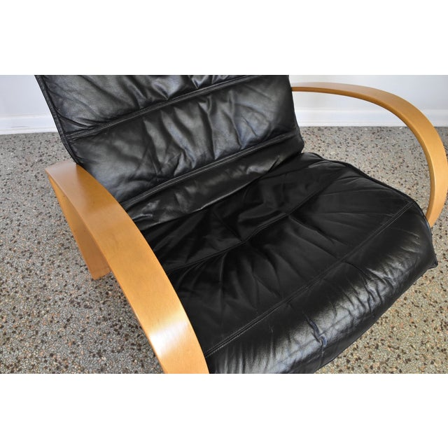 Vintage Italian Bentwood Lounge Chair - Image 8 of 10