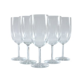 French Wine Glasses - Set of 5