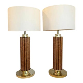Gabriella Crespi Style Table Lamps - A Pair