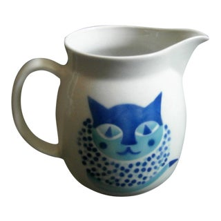 Arabia Finland Heluna Cat Pitcher by Kaj Franck