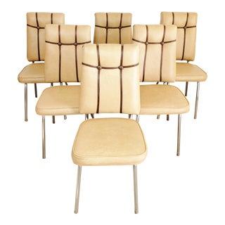 Vintage Atlas Diner Kitchen Chairs - Set of 6