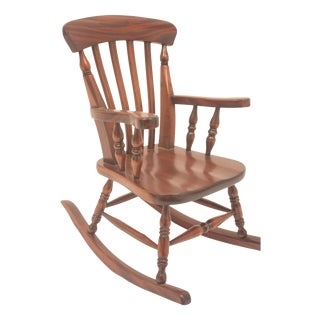 Winsor-Style Doll Rocking Chair