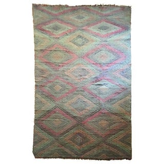 Vintage Anatolia Turkish Kilim - 6′7″ × 10′7″