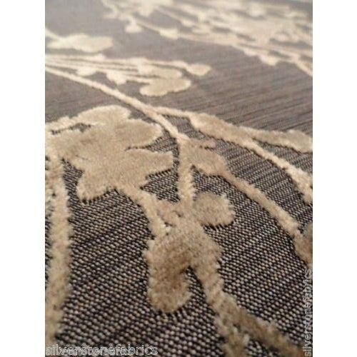 Arc|Com Provence Gold Floral Velvet - 7 Yards - Image 3 of 3