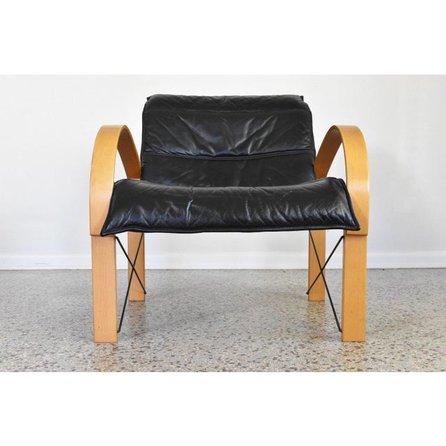 Vintage Italian Bentwood Lounge Chair - Image 3 of 10