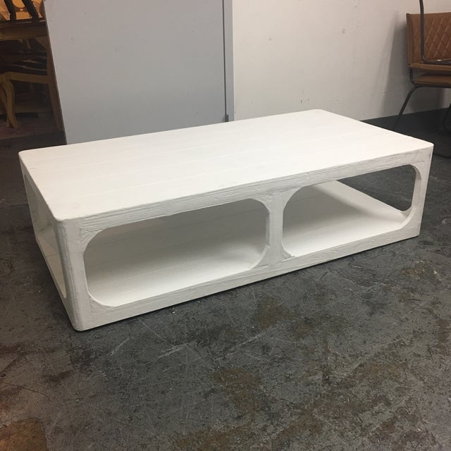 Dovetail White Shabby Chic Coffee Table - Image 3 of 9