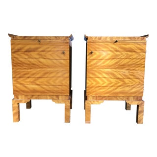 Swedish Art Moderne Side Tables Pair