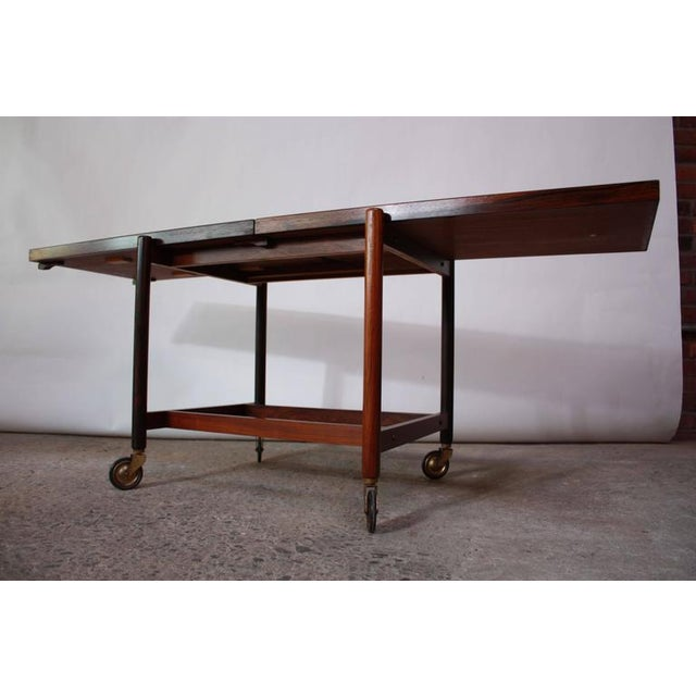Poul Hundevad Rosewood Modular Bar Cart - Image 3 of 10