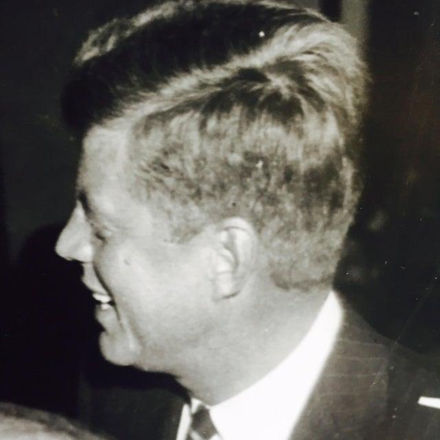 Original Charles Harris JFK Supporters Photograph - Image 6 of 7