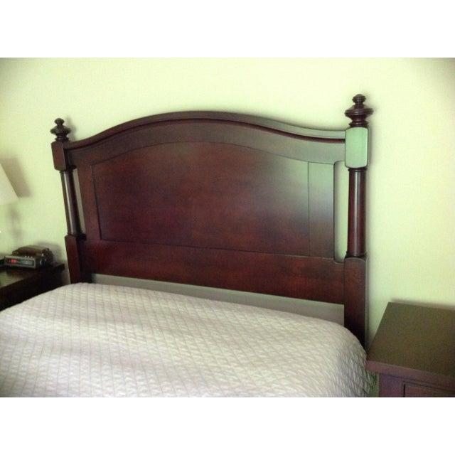 Restoration Hardware Camden Queen Bed - Image 3 of 6