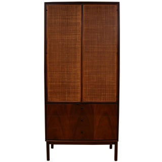 Knoll Tall Walnut Armoire