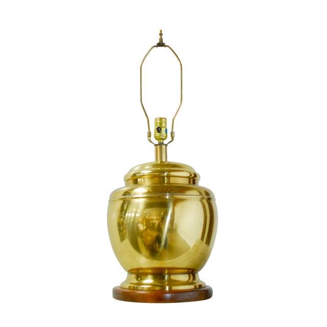 Image of Frederick Cooper Brass Tea Jar Table Lamp