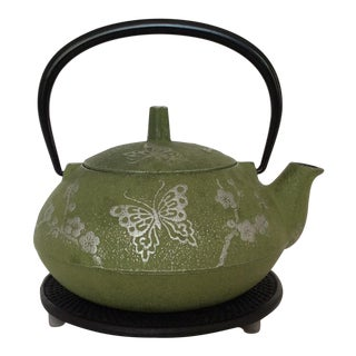 Japanese Cast Iron Tea Pot