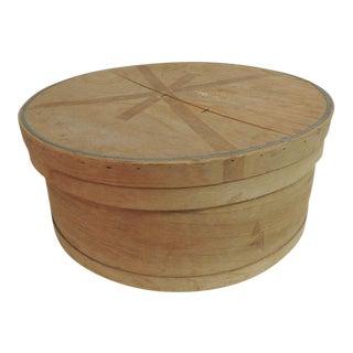 Primitive Wood Decorative Box