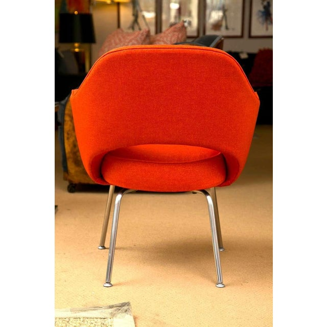 Mid-Century 1960s Set of Six Saarinen Executive Lounge Chairs - Image 6 of 8