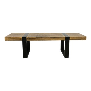 Crate & Barrel Rustic Coffee Table