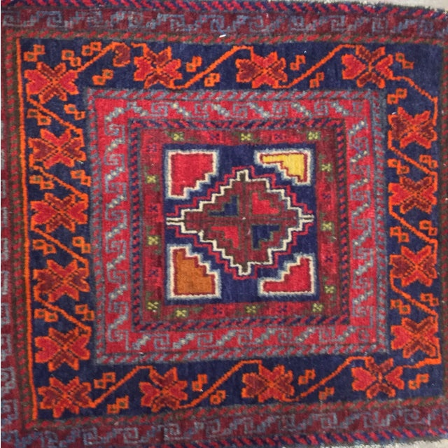 """Vintage Red Persian Rug - 1'11"""" x 2'4"""" - Image 3 of 9"""