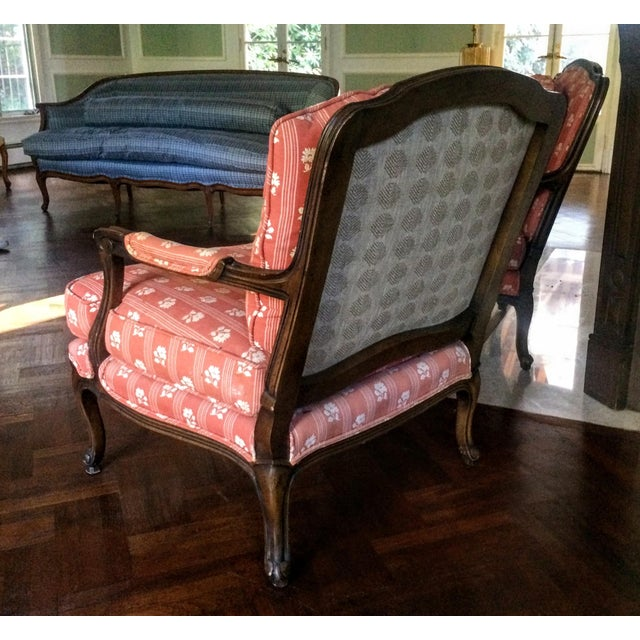 Baker Furniture Bergere Chairs - A Pair - Image 5 of 11