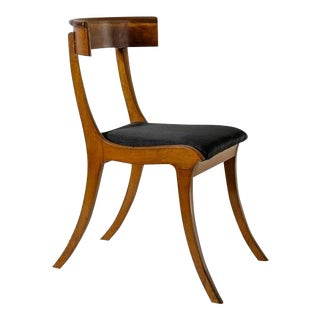 Kay Fisker Klismos Chair with Horsehair Seat, Denmark, 1920s
