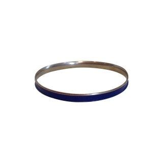 Napier Hermes Style Blue Bangle