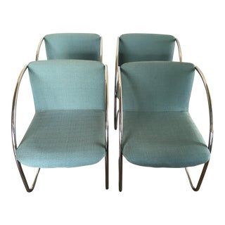 Vintage Saporiti Italia Lens Chairs - Set of 4