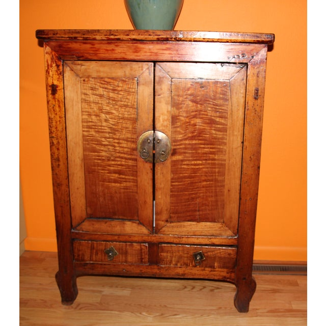 Antique Chinese Cabinet - Image 2 of 9