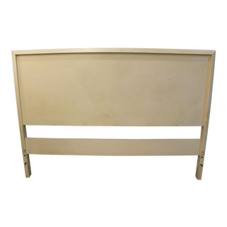 Mid-Century Danish Modern White Paul McCobb Planner Group Full Size Headboard