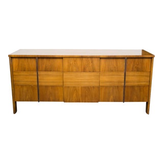 John Widdicomb Walnut Dresser by Dale Ford