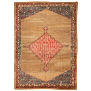 Exceptional Rare & Early Antique Early 19th Century Persian Bakshaish Carpet