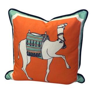 Cotton & Quill Indoor/Outdoor Camel Pillow