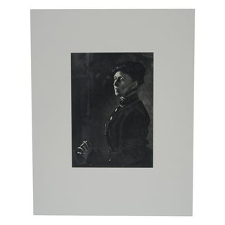 Alice Meynell Photogravure by E.O. Hoppe
