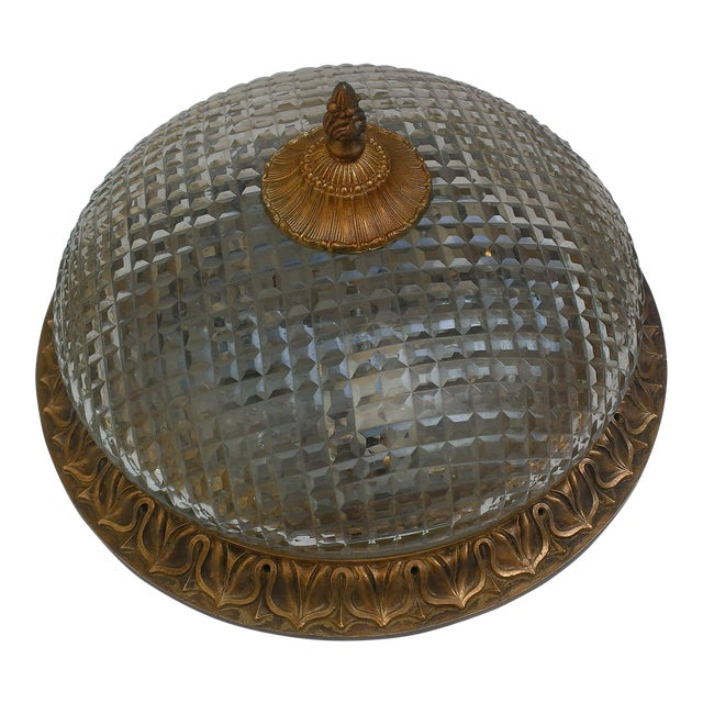 Image of Edward F. Caldwell & Co. Flush Mount Light Fixture