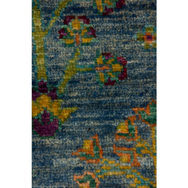 """New Hand Knotted Runner - 2'6"""" x 8'7"""" - Image 3 of 3"""