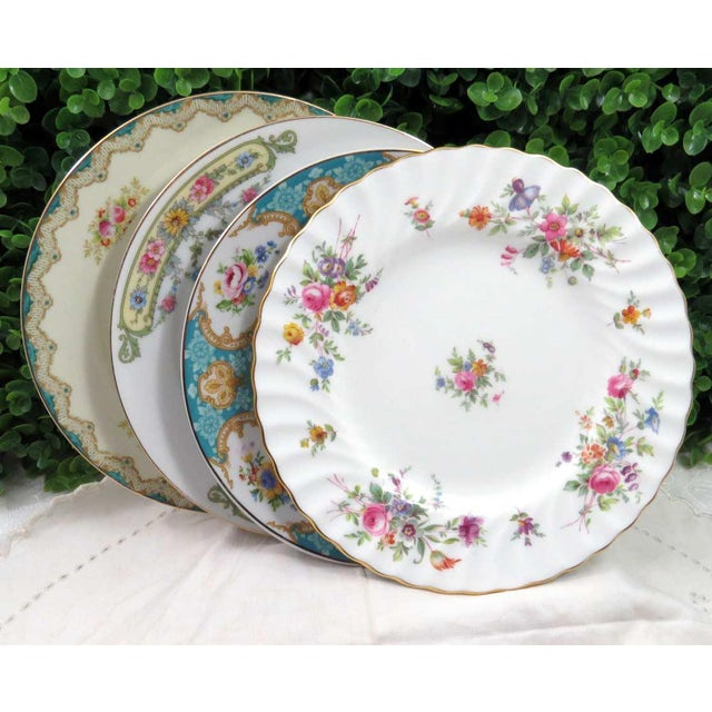 Vintage Mismatched China Dessert Plates - Set of 4 - Image 7 of 8