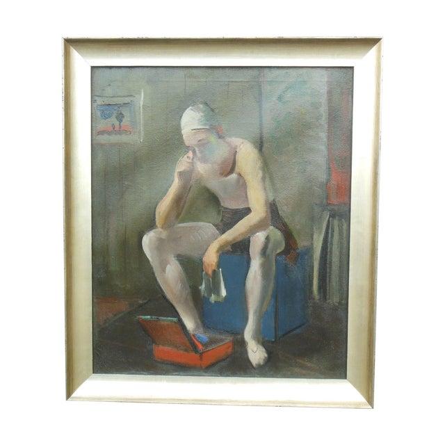 Virginia Goldberg Ballet Dancer Painting - Image 1 of 5