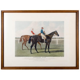 Charles Hunt Race Horse Engraving