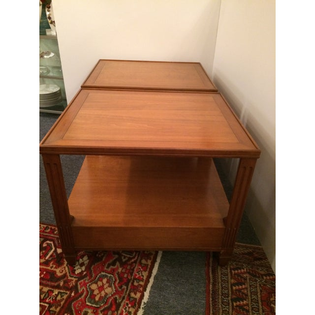 Baker Mid-Century Tables - Pair - Image 5 of 6
