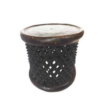 African Bamileke Spider Stool/Table