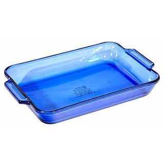 Cobalt Glass Baking Dish