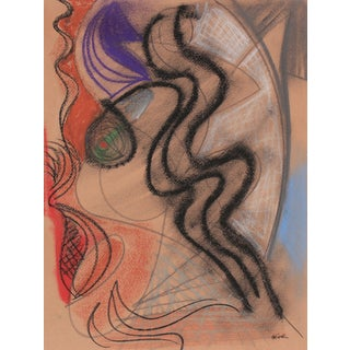 Surrealist Pastel Abstract by M. di Cosola