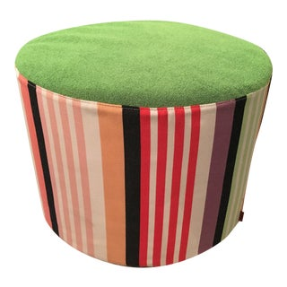 Missoni Home Overall Striped Pouf