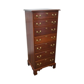 Statton Solid Cherry Chippendale Style Lingerie Chest