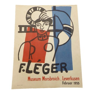 Fernand Leger French Exhibition Poster 1955