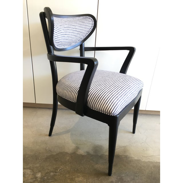 Mid-Century Crescent Back Dining Chairs - Set of 4 - Image 6 of 10