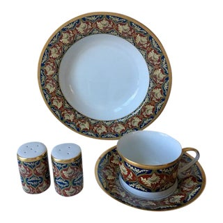 Vintage Christian Dior Fine China - 5 Pieces