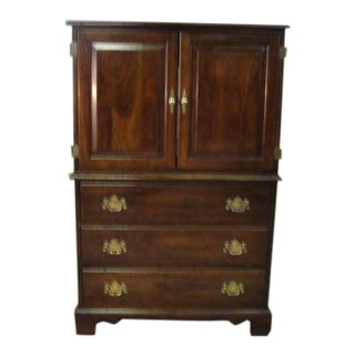 Stickley Solid Cherry High Cabinet
