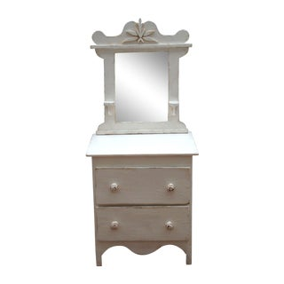 Antique Salesman's Sample Vanity
